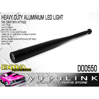 HEAVY DUTY LED ALUMINIUM TORCH BLACK 550mm LENGTH ( BASEBALL BAT STYLE )