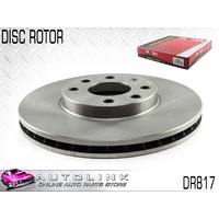 PROTEX FRONT DISC ROTOR SUIT HOLDEN ASTRA TS CD CDX CITY EQUIPE 1998-06 DR817 x1