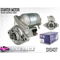 OEX STARTER MOTOR FOR HOLDEN RODEO TF 2.6L 4ZE1 4CYL 7/1988 - 12/1998 DXS437