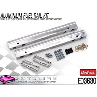 EDELBROCK PRO FLO EFI ALUMINIUM FUEL RAIL KIT FOR SMALL BLOCK CHEV V8 ED3630