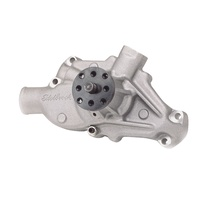 EDELBROCK ED8810 VICTOR SERIES ALLOY WATER PUMP FOR SMALL BLOCK CHEVY SHORT