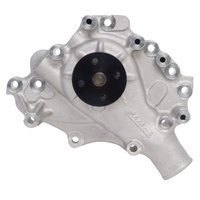 EDELBROCK VICTOR SERIES ALUMINIUM WATER PUMP FOR 302 351 CLEVELAND (LEFT INLET)