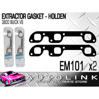 EXTRACTOR GASKET FOR HOLDEN COMMODORE VN VP VR 3.8L BUICK V6 - EM101 x2
