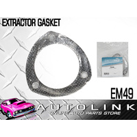 "EXHAUST FLANGE GASKET (EXTRACTOR GASKET) SUIT 3"" SYSTEM WITH 3 BOLT HOLES (x1)"