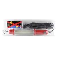 EXELITE LED LEAD LIGHT 240V - 12VDC 108 LED 800 LUMENS - 8 METRE POWER CORD