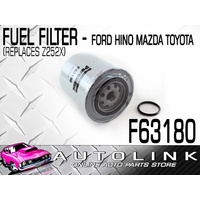 FUEL FILTER SUITS MAZDA BRAVO B2500 2.5lt 4CYL TURBO DIESEL 1999 - 2007