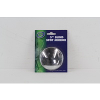 "BLIND SPOT MIRROR 3"" ROUND, GOOD FOR TOWING CARAVANS/TRAILERS & TRUCKS"