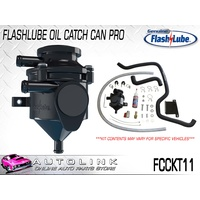 FLASHLUBE CATCH CAN PRO - ISUZU MU-X 3.0L TURBO 4JJITC ( UP TO 12/2017 ) FCCKT11