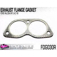 EXHAUST FLANGE GASKET SUIT FORD FALCON BF BFII 5.4lt V8 INC XR8 ( BOSS-260,290)