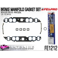 FELPRO INTAKE MAINFOLD GASKET BUNDLE FOR BB CHEV V8 OVAL PORT