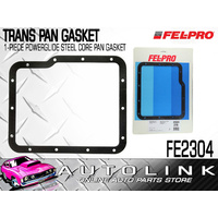 FELPRO TRANSMISSION PAN GASKET 1-PIECE POWERGLIDE STEEL CORE - HOLDEN / CHEV