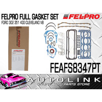 FELPRO FULL GASKET SET FOR FORD FALCON XY XA XB XC XD XE V8 4.9L 5.8L CLEVELAND