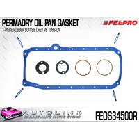 FEL-PRO PERMADRY RUBBER OIL PAN GASKET FOR SMALL BLOCK CHEV V8 FEOS34500R