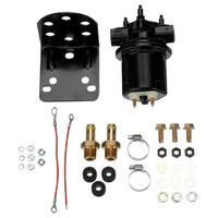 CARTER FPM4601HP BLACK COMPETITION EXTERNAL ELECTRIC FUEL PUMP 14-16 psi