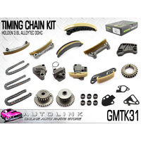 NASON TIMING CHAIN KIT WITH GEARS FOR HOLDEN CAPTIVA CG 3.0L 3.2L V6 9/2007 - ON
