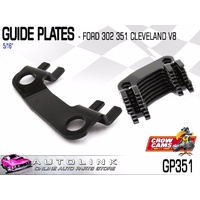 "CROW CAMS GUIDE PLATES 5/16"" FOR FORD 302 351 CLEVELAND V8 - GP351"