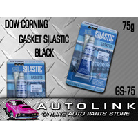 DOW CORNING GASKET MAKER SILASTIC BLACK SEALANT 100% SILICONE RUBBER 75G GS-75