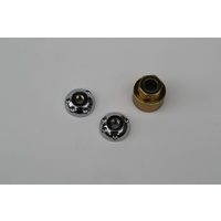 GREAT WHITES ANTI THEFT LOCK NUTS FOR ROUND LED DRIVING LIGHT M10 x 1.25mm