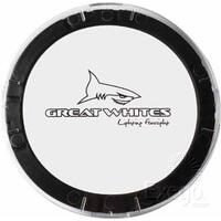 GREAT WHITES POLYCARBONATE LENS COVERS - CLEAR SUITS 170 SERIES LIGHTS GWA0003 x2