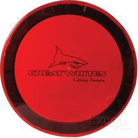 GREAT WHITES POLYCARBONATE LENS COVER RED FOR 170 SERIES LIGHTS GWA0006 x1