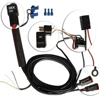 GREAT WHITES 12 VOLT WIRING HARNESS WITH H4 PLUG & PLAY ADAPTORS GWA0007