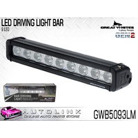GREAT WHITE 9 LED DRIVING LIGHT BAR LOW MOUNT -  GEN2 9-32V GWB5093LM