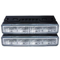 GREAT WHITES DAYTIME RUNNING LIGHT KIT 12/24V WITH WIRING HARNESS GWF1023