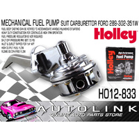 HOLLEY 12-833 80 GPH MECHANICAL FUEL PUMP SUIT FORD V8 289 302 351 WINDSOR