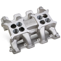 HOLLEY HO300-133 ALLOY LS3 L92 DUAL PLANE MID RISE CARBY INTAKE MANIFOLD