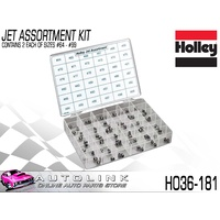 HOLLEY 36-181 CARBURETOR JET ASSORTMENT KIT CONTAINING 2 OF EACH SIZE #64 - #99