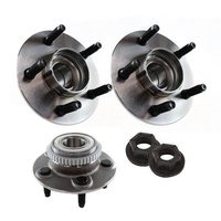FRONT WHEEL BEARING HUBS + NUTS SUIT FORD FALCON AU SERIES 1 2 3 6CYL & V8 x2