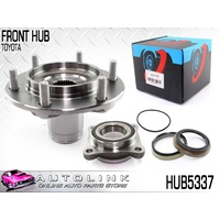 FRONT WHEEL BEARING HUB FOR TOYOTA HILUX KUN26 3.0L 1KD-FTV 4WD 2005-2015 x1