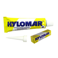 HYLOMAR HYLOTITE RED 100 JOINTING COMPOUND - FLUID RESISTANT SEMI HARDENING 40ml