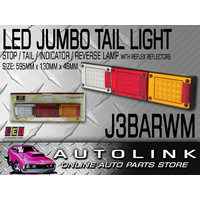 LED AUTOLAMPS J3BARWM TRUCK TRAILER JUMBO COMBINATION TAIL LIGHT LAMP PAIR