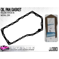 OIL PAN GASKET CORK SUIT HOLDEN CALAIS VN VP VR 3.8L V6 9/1988 - 3/1995 JJ380