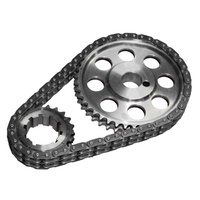 JP JP5982 DOUBLE ROW TIMING CHAIN GEAR SET FOR FORD V8 WINDSOR 289 302 351 CARBY