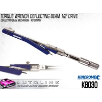 "KINCROME TORQUE WRENCH DEFLECTING BEAM 1/2"" DRIVE 20-220 FT/LB 40-300NM K8030"