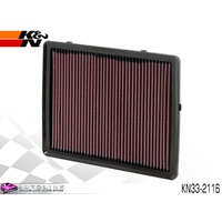 K&N AIR FILTER ELEMENT FOR HOLDEN COMMODORE VT VX VY VZ V6 & V8 KN33-2116