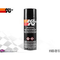K&N AIR FILTER OIL - IMPROVES FILTER PERFORMANCE 350ml SPRAY CAN KN99-0516