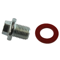 KELPRO OIL SUMP PLUG & WASHER 14mm x 1.5 SUIT FORD FAIRMONT BA V8 5.4L BARRA 220