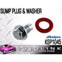 OIL SUMP PLUG & WASHER 14mm - 1.5 SUIT HOLDEN BERLINA VY V6 3.8L 2002 - 2004