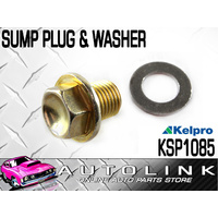 KELPRO SUMP PLUG & WASHER 14mm - 1.5 SUIT HOLDEN COLORADO RC 3.0L TURBO DIESEL