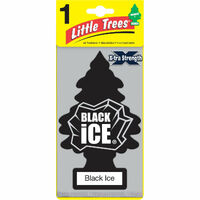 LITTLE TREE EXTRA LARGE BLACK ICE AIR FRESHENER ( LTEXBI )