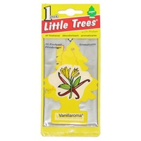 LITTLE TREE VANILLA AIR FRESHENER FOR CAR TRUCK CARAVAN LONG LASTING x5 PACK