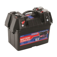 MATSON MA98121 BATTERY POWER BOX WITH TWO 50 AMP CONNECTORS USB & VOLT DISPLAY