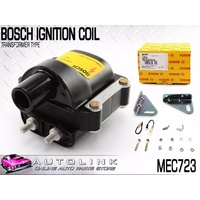 BOSCH IGNITION COIL TO SUIT FORD TELSTAR AT 2.0L FE 4CYL 1978 - 1989 MEC723