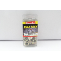CHAMPION STEEL MANIFOLD NUTS M10 x 1.25 MS14 (PACK OF 25)