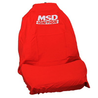 MSD THROWOVER SEAT COVER W/ LOGO BUCKET SEATS FOR FORD XR6 XR6T XR8 G6 G6E G6ET