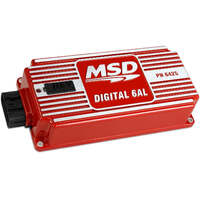 MSD MSD6425 DIGITAL 6AL IGNITION CONTROL BOX WITH ROTARY DIALS FOR REV LIMITER