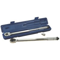 "KINCROME MICROMETER TORQUE WRENCH 1/2"" DRIVE 10-150 FT/LB 13.6-203.5 NM MTW150F"